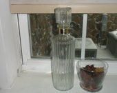 Vintage Calvert Whiskey Decanter
