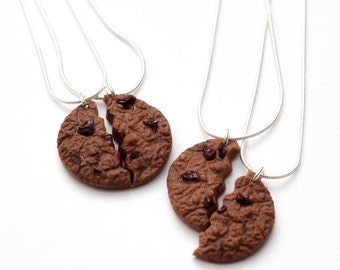 Friendship Necklaces - double chocolate chip cookie