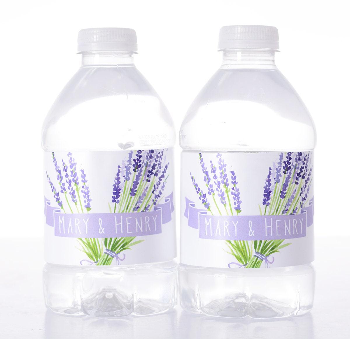vintage wedding decor 50 wedding water bottle labels