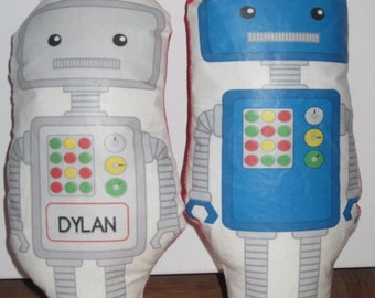 Robot Plush Toy (can be personalized with your child's name)