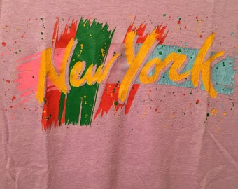 Sweet vintage New York muscle T