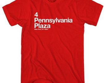 New York NYR Hockey Stadium T-shirt - Men and Unisex - XS S M L XL 2x 3x 4x - New York City Tee, Sports, Manhattan - 4 Colors