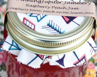 Homemade Raspberry Peach Jam - 8oz