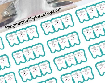 Orthodontist Planner Stickers for your Erin Condren Planner