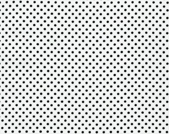 BT-3482-88 ICE white with black dots from Pimatex Basics Robert Kaufman - per yard - discontinued