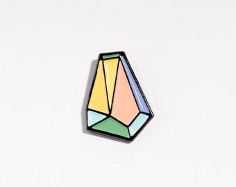 nice pin diamond // enamel pin // nicenicenice