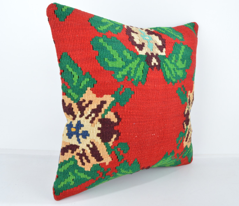 Wool Pillow, Kilim Pillow, KP1117, Decorative Pillows, Designer Pillows, Bohemian Decor ...