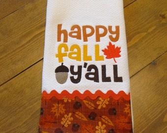 Fall Kitchen Towel