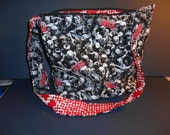 Walking Dead, Day of the Dead, Zombies, Blood, over the chest, or over the shoulder purse