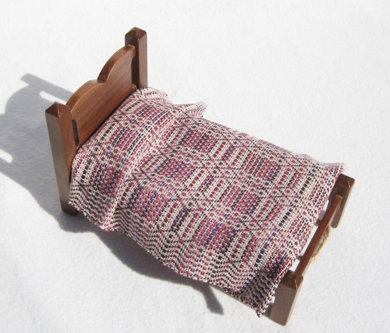 Dollhouse Rug Miniature Hand Woven Area Rug MIniature Susan