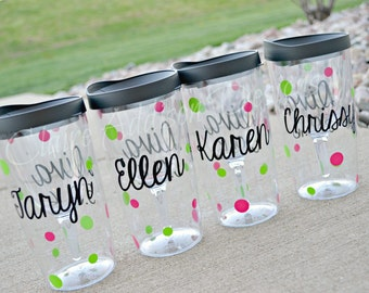 Vino2Go - Personalized Wine Tumblers - Bridesmaids, Bachelorette, Maid of Honor, Wedding Coordinator, Destination Weddings, Birthdays, Gifts