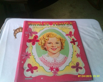 Shirley Temple Large Folding Doll with Easel