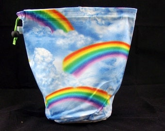 R/M Project bag 335 Rainbows and Clouds