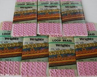 7 Packages Wrights loop braid