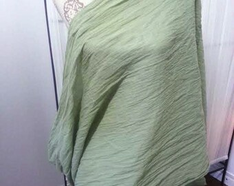 Sage Gauze Scarf, Sage, Organic Cotton, Infinity, Breastfeeding Wrap, SALE