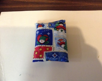 Black swirl pocket tissue pack by wasp42608 on etsy for Snowman pocket tissues