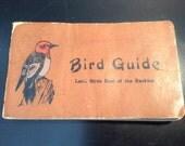 "Antique bird book bird guide ""Land Birds East of the Rockies"" - 1912"
