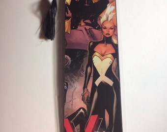 Upcycled X-men Comic Book Bookmark