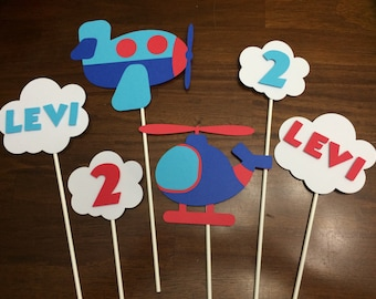 Flying High Centerpieces/ Cake Toppers