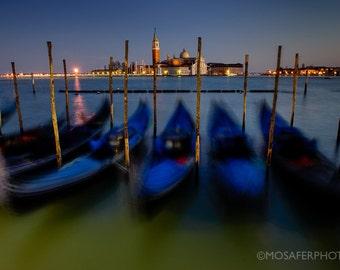 Travel Photography, Venice, Gondola, Italy, Wall Decor, Home Decor, Wall art, Fine Art Print, Gift for him, Christmas gift idea, Art Print