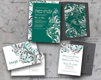 STEPHANIE Invitation Suite Printables