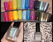 Over the Rainbow 5-Free Holographic Top Coat Nail Polish