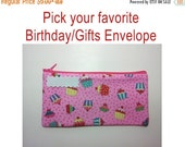 ON SALE Cash Envelope System -BIRTHDAY, Gifts, Party- for use with the Dave Ramsey System -Ready to Ship