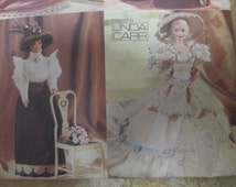 Vogue 9759--Fashion Doll Historical Gowns Costumes Doll Clothes Vogue 9759 Sewing Pattern Fits 11 1/2 inch Dolls UNCUT