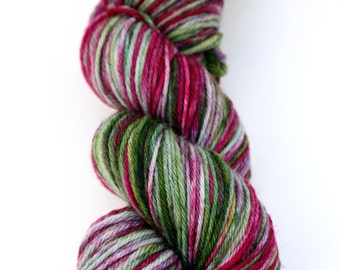"Superwash Merino Worsted Weight Yarn, in ""Hellebore"""