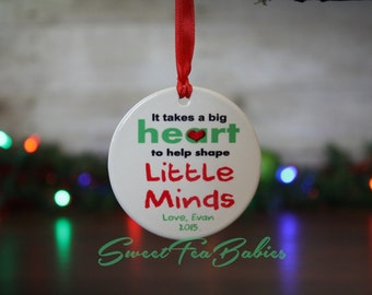 Teachers gift, teachers ornament, teacher gift, teacher ornament, gift for teacher ornament, custom ornament, Christmas ornament