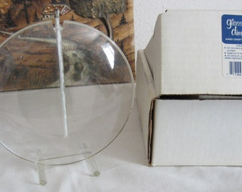 Oil Candle  Glass Oil Lamp Illusion Light Vintage Lighting in Original Box Infinity Candle