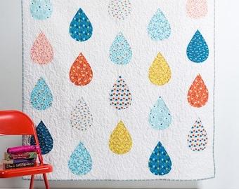 PDF Pattern: Raindrops Quilt
