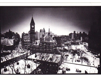 Vintage Postcard From Photo Chronicles LTD Depicting Jefferson Market Library Greenwich Village New York Photographed By Alastar Finlay