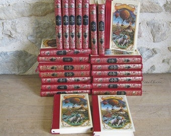 French books Jules Verne hardback books in French with FREE SHIPPING