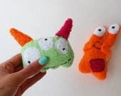 2 toys baby bath Monster Terrycloth Baby shower new baby gift
