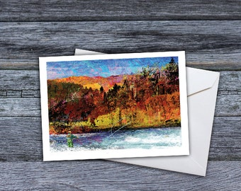 Fly Fishing  - Legends of the Fall Greeting Card
