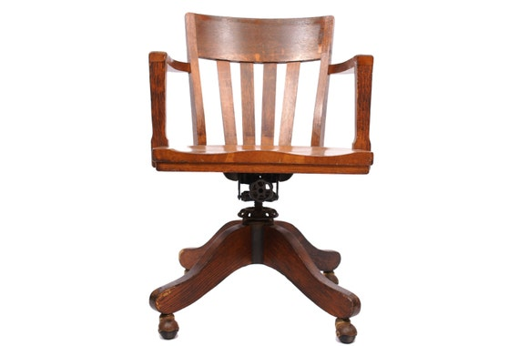 item added to cart antique office chair
