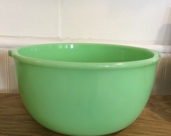 Vintage Jadeite Mixing Bowl - XL - Gorgeous
