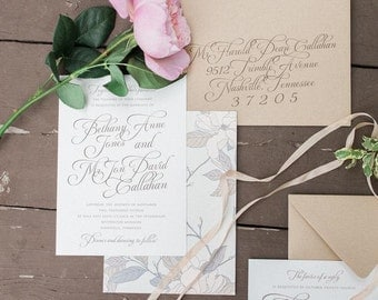 Riverwood Suite | Wedding Invitations | Printed by Darby Cards Collective