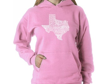 Women's Hooded Sweatshirt - The Great State of Texas