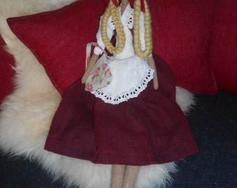 Handmade doll tilda