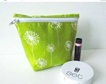 CHRISTMAS In JULY SALE Cosmetic Pouch - Small Makeup Bag - Toiletry Bag - Cosmetic Bag - Waterproof Bag - Wet Bag