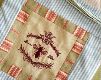 Drawstring Travel Bag - Laundry Bag - Makeup Bag- Tolietry Bag -Linen Bag