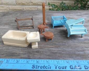 dollhouse furniture vintage