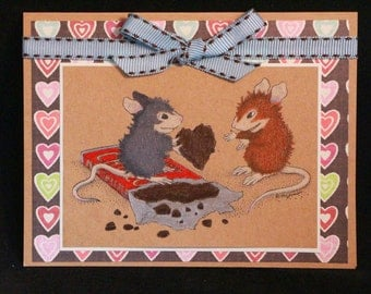 House Mouse Chocolaty Valentine
