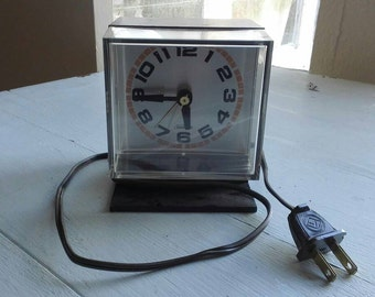 Vintage Sunbeam Electric Alarm Clock
