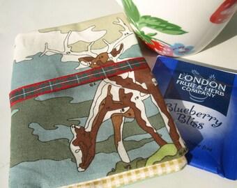 Tea bag wallet - useful for holidays and nights away