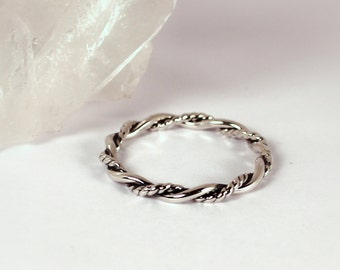 Twisted Wreath Ring, Sterling Silver, Made to Order