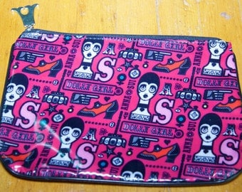 Vintage Authentic Anna Sui Cosmetic Bag