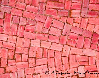 Mosaic Clip Art, Instant Download, Scrapbooking, Stock Photo, Digital Download, Banner Image, Header Photo, Red Tiles, Blog Art